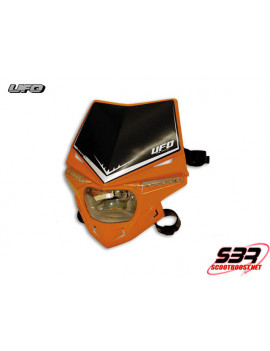 Plaque phare UFO Stealth KTM Orange 12V/35W