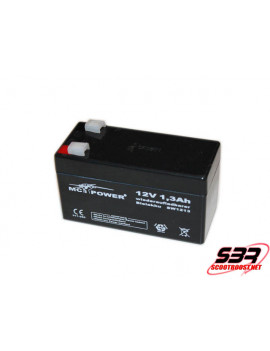 Batterie 12V / 1,3Ah 555gr Drag race