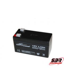Batterie 12V / 1,3Ah 555gr Drag race