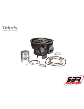 Cylindre piston fonte Teknix 50cc MBK Nitro/Aerox