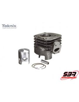 Cylindre piston fonte Teknix 50cc axe 10mm CPI / Keeway / MBK