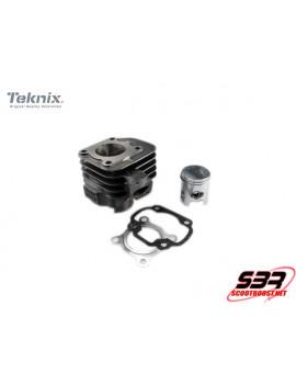 Cylindre piston fonte Teknix 50cc axe 12mm CPI / Keeway