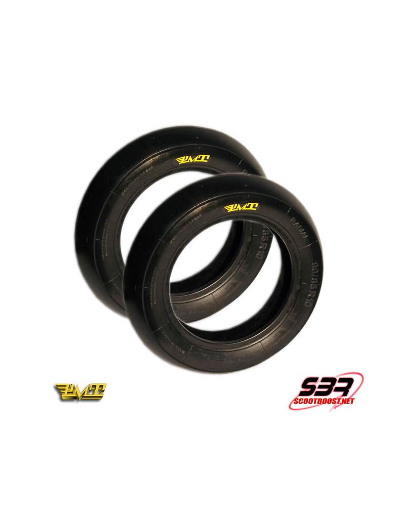 Set de pneus PMT 90/85/10 - 90/90/10 slick