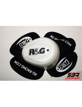 Sliders genou R&G Racing Blanc (la paire)