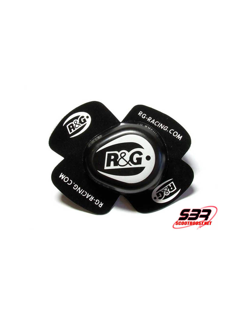 Sliders genou R&G Racing Noir (la paire)