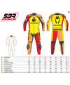 Combinaison cuir Malossi / Gimoto racing T.50