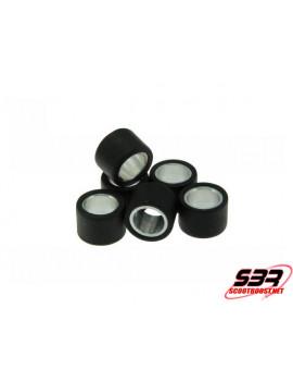 Set de 6 galets variateur Motoforce 19x15,5mm - 5,5gr