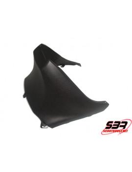 Capot de selle inférieur noir Piaggio Zip 2000