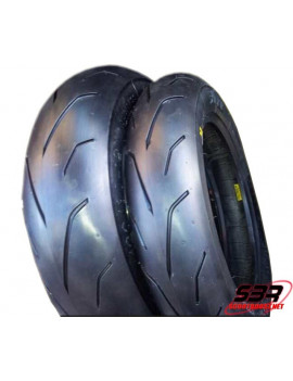 Set de pneus PMT Blackfire 100/90/12 - 120/80/12
