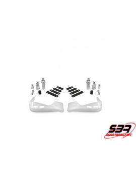 Protège main Blanc MBK Booster / Stunt / Peugeot Speedfight / Bw's