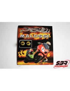 2 bouchons de valve Malossi