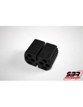 Silent bloc n°1 support moteur Piaggio Zip