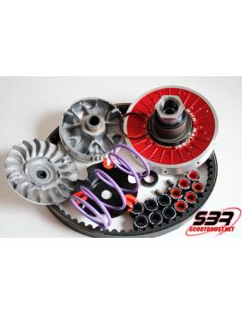 """Pack Overrange MHR """" Aluminium """" Piaggio Zip SP 2000"""