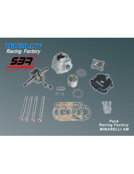 "Pack Bidalot Racing Factory ""Label"" 80cc AM6"