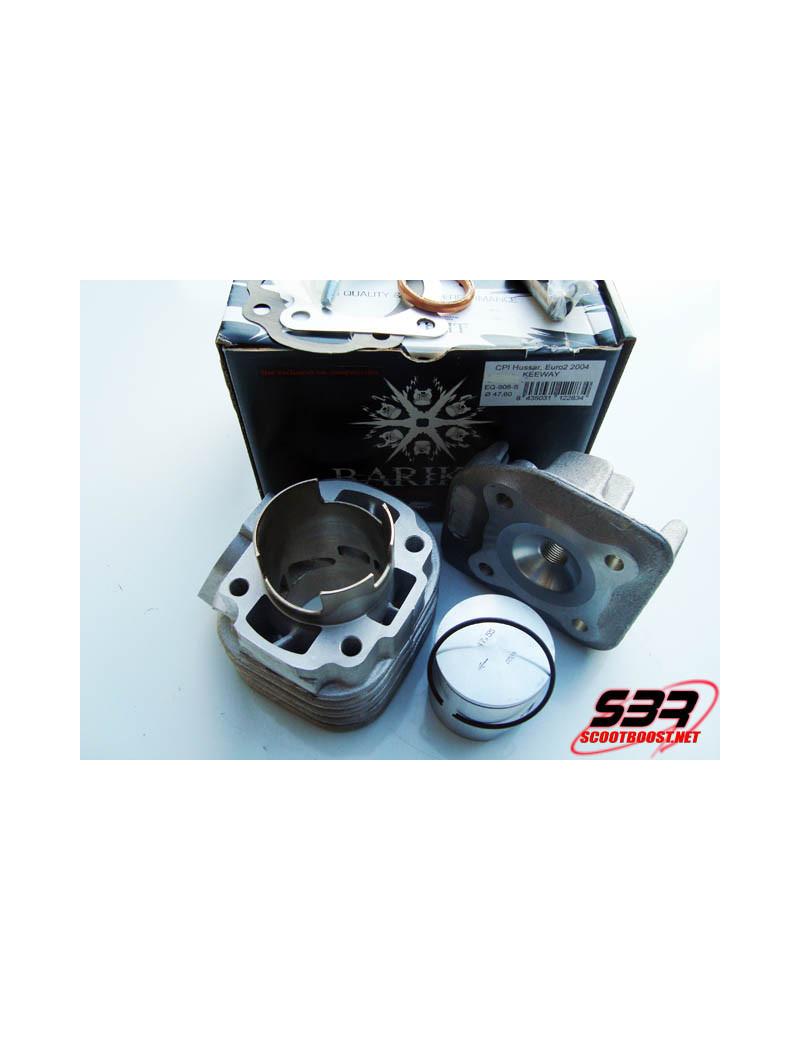 Cylindre Barikit Racing Alu  6T 70cc CPI - Keeway
