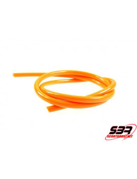 Durite d'essence Motoforce couleur orange Ø 5mm