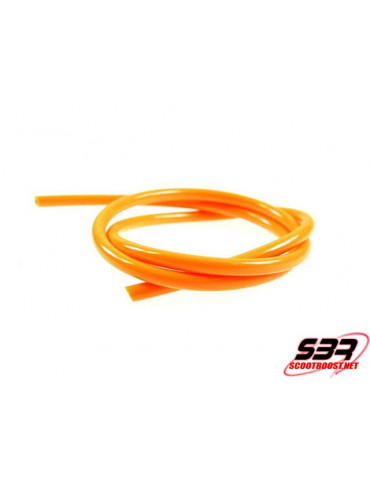 Durite d'essence Motoforce couleur orange Ø 5mm