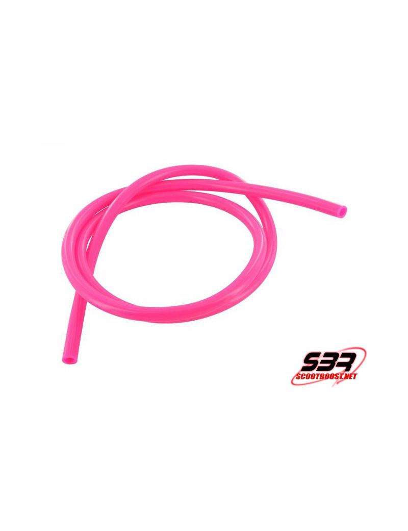Durite d'essence Motoforce couleur Rose Ø5mm