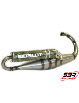 Pot D'Echappement Bidalot  S3R Verni Sil. Kevlar Peugeot Speed