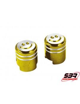 "Bouchons de valve Tun'R piston "" Or """