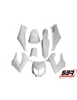 Kit carénages Replay Derbi Senda Blanc (8pcs)