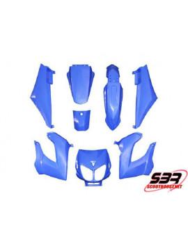 Kit carénages Replay Derbi Senda Bleu (8pcs)