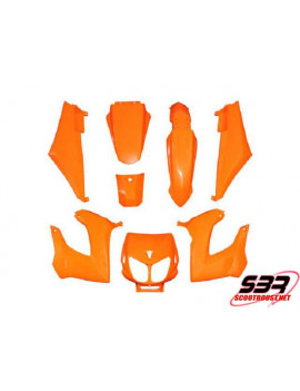 Kit carénages Replay Derbi Senda Orange (8pcs)