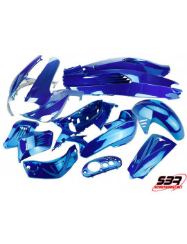Kit carénages bleu brillant Gilera Runner (12pcs)