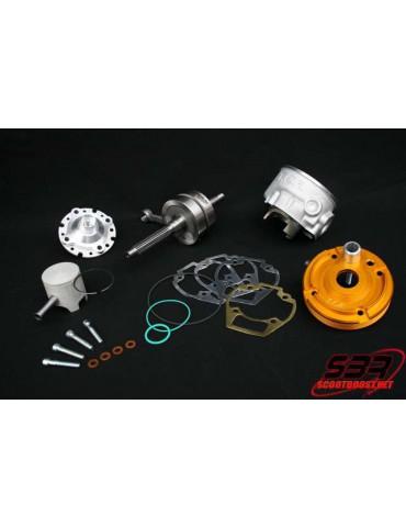 Kit cylindre + Vilebrequin TCR Team 70cc Gilera / Piaggio Zip