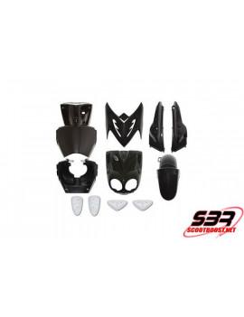 Kit carénages Noir11 pièces MBK Stunt / Yamaha Slider