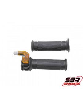 Poignée de gaz Replay Targa Metal noir