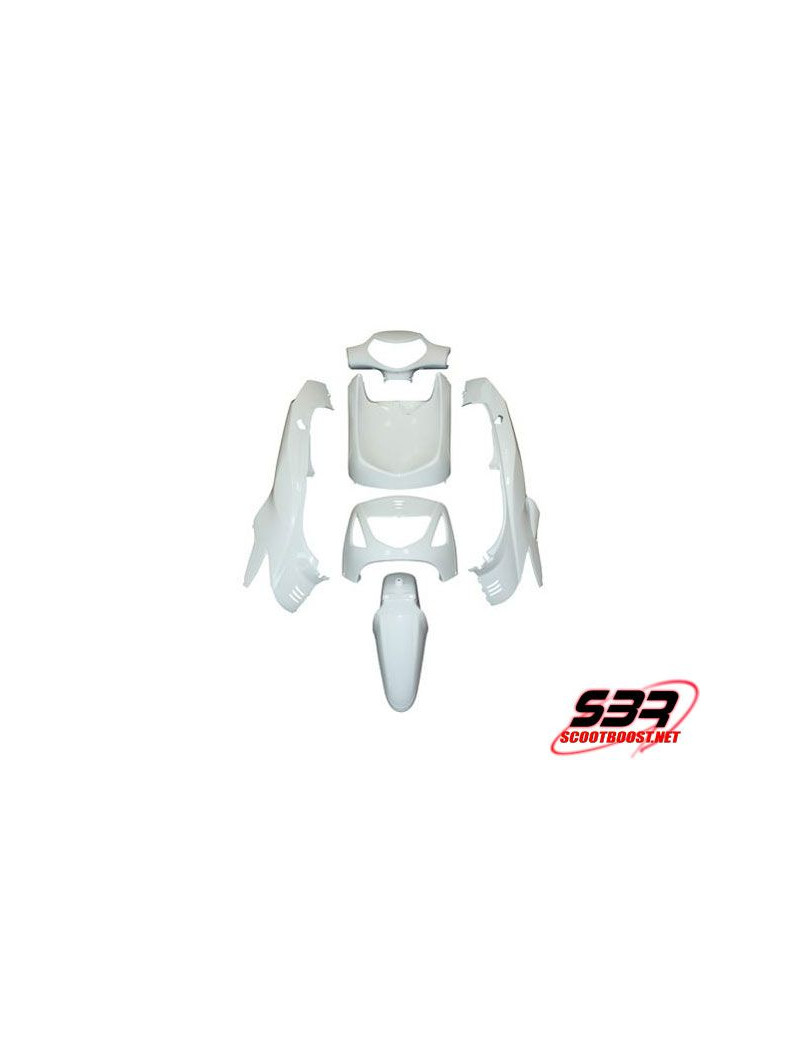 Kit carrosseries adaptable Maxiscooter Honda 125 SH (6pcs)