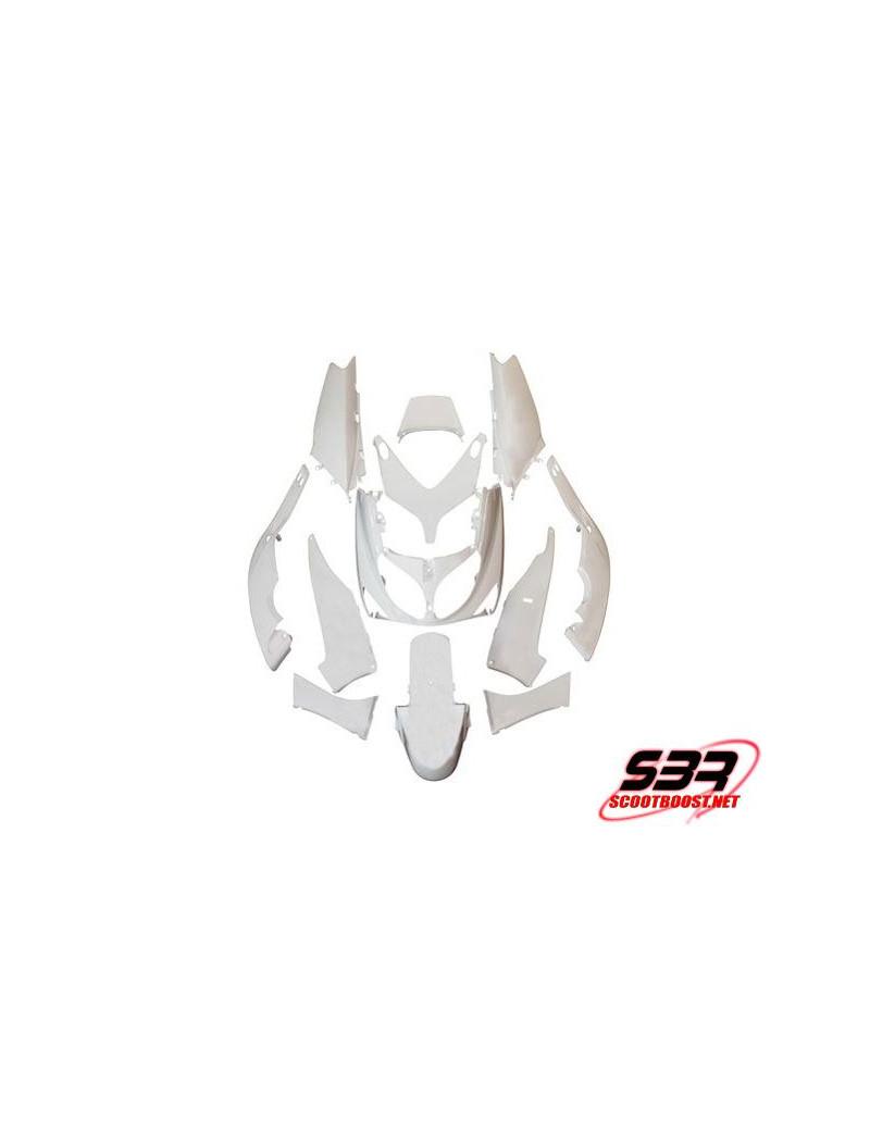 Kit carrosseries adaptable Maxiscooter Yamaha T-Max 500 2004 à 2007 (12pcs)
