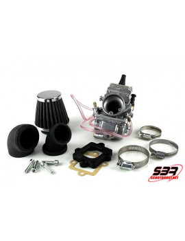 Kit carburateur Top Performance Mikuni TM24 MBK Nitro / Yamaha Aerox