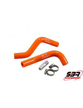 Kit durite radiateur Stage6 orange Minarelli Horizontale