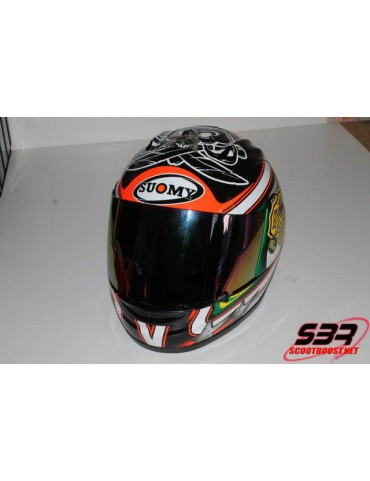 Casque Suomy replica Max Biaggi 2012 taille M