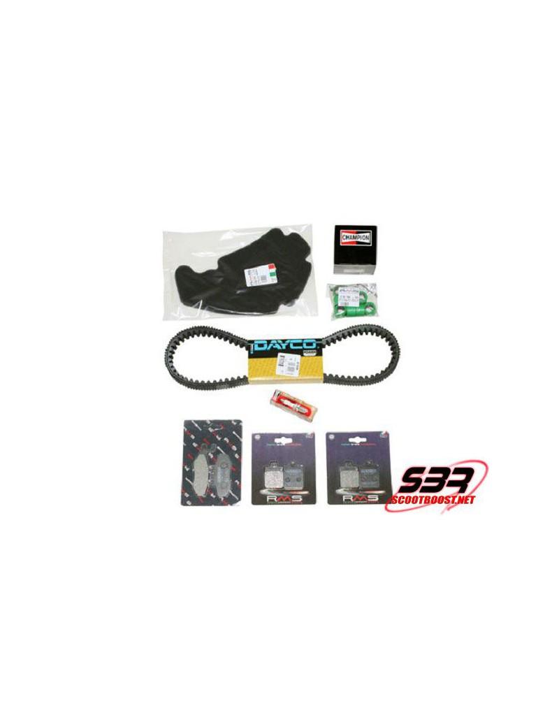 Kit entretien moteur RMS Maxiscooter Piaggio MP3 400 2007 et plus