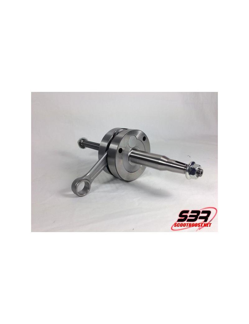 Vilebrequin 2Fast course 44mm bielle 90mm MBK Nitro / Aerox