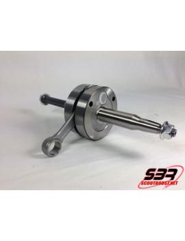 Vilebrequin 2Fast course 45,8mm bielle 90mm MBK Nitro / Aerox