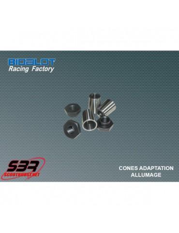 Cône d'adaptation volant d'allumage Bidalot Factory MBK Nitro/Aerox