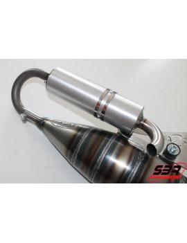 Pot d'échappement 2Fast 100cc MBK Nitro / Yamaha Aerox