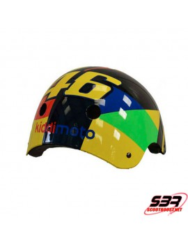 Casque enfant Kiddimoto Valentino Rossi VR46