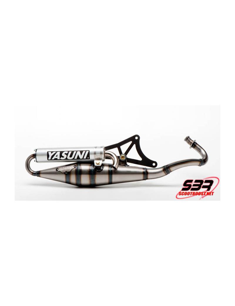 Pot d'échappement Yasuni Z carbonne kevlar Gilera / Piaggio