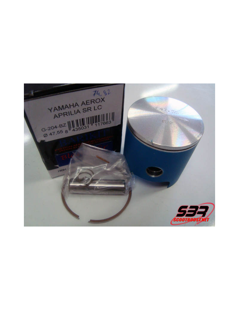 Piston Barikit racing D.47,6mm Blue Zafir axe 10mm