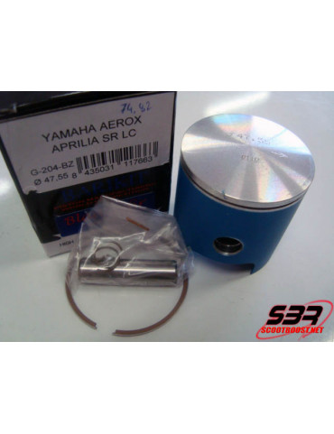 Piston Barikit racing Ø47,6mm Blue Zafir axe 10mm