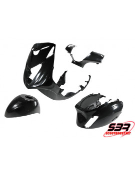 Kit de carénages STR8 noir Piaggio Zip 2000