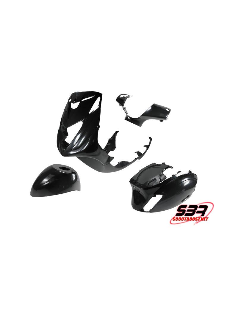 Kit de carénages STR8 noir Piaggio Zip 2000