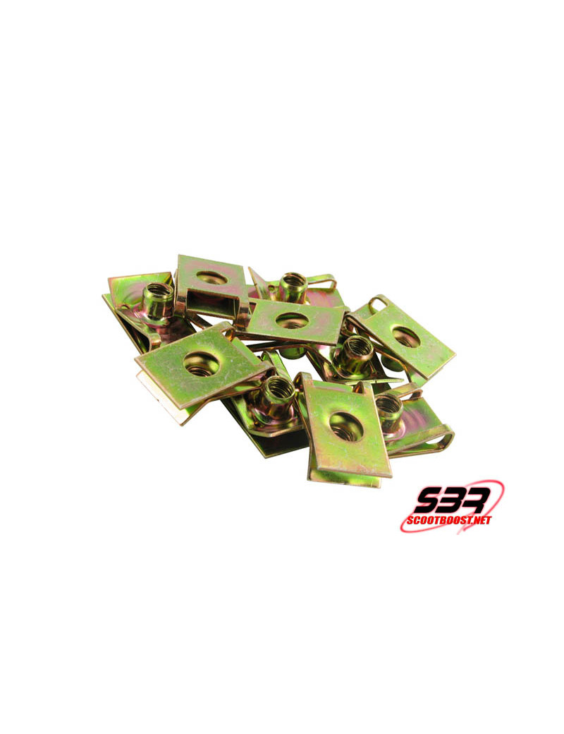 Set de clip pour carenage Motoforce M6 (10pcs)
