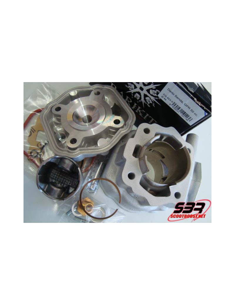 Cylindre Barikit racing alu 70cc Derbi euro 2