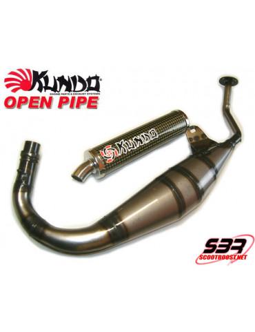Pot d'échappement Kundo Open Pipe 50cc RS50 '98 à '06 AM6